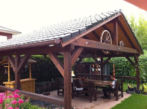 Carport-Überdachungen-Vordächer bei EliTE HolzBAU