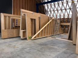 Holzrahmenbau Elemente