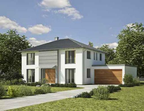 Einfamilienhaus in Holzrahmenbau in Berlin/Brandenburg